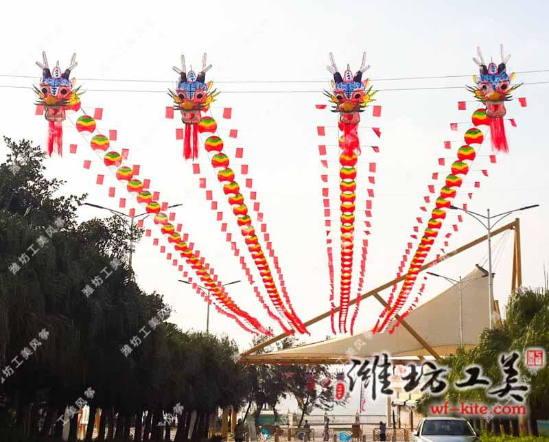 潍坊风筝厂—风筝展览